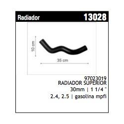 MANGUERA DE RADIADOR SUPERIOR LUV DMAX 2.4/2.5 CHEVROLET