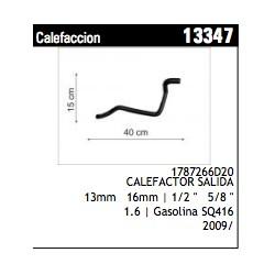 TUBO DE CAUCHO GM GRAND VITARA (CALEFACCION)