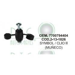 MUÑECO TEMPLETE SYMBOL / CLIO II